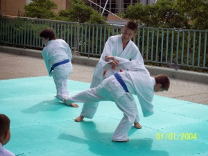 2004 Aikido Demonstration Isaac Mata